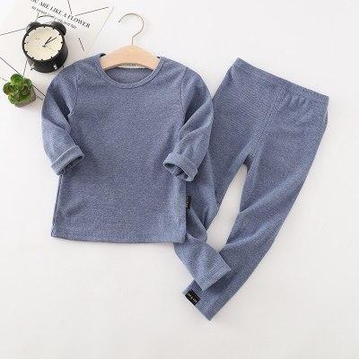 Baby Kids Pajamas Sets Cotton Sleepwear Suit Long Sleeve Pijamas 2pcs Children Clothing