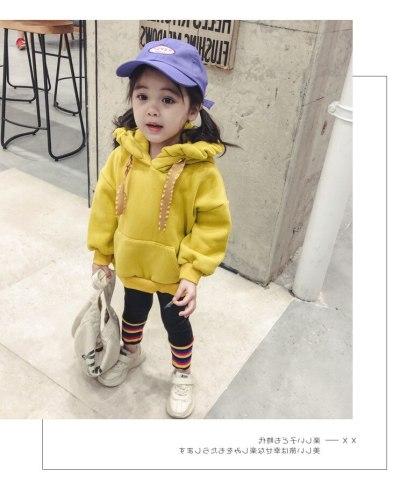 Winter Girls wear floral hoods fleece padded coat children's clothing clothes