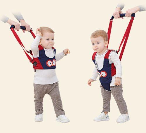 Baby Unisex Walker Assistant Harness Safety Toddler Belt Kid Safe Leashes 6-24 Months