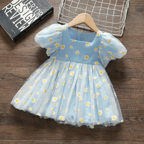 Princess Baby Girl Dress Party Birthday tutu Dress  Wedding Dresses for Newborn Clothes