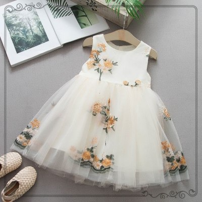 Girl Princess Dress Sleeveless Tutu Dress Party Dress Girls Baby Dresses Kids Clothes