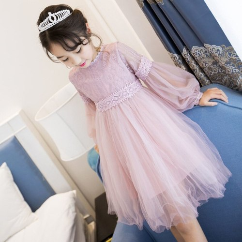 Girls fashion dress princess gauze skirt kids clothes party dresses