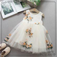 Girl Princess Dress Sleeveless Tutu Dress Party Dress Girls Baby Dresses Kids Clothes