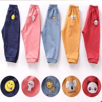 Casual Pants Baby Kids Long Trousers Cotton Autumn Winter Sport Pants Children's Clothing