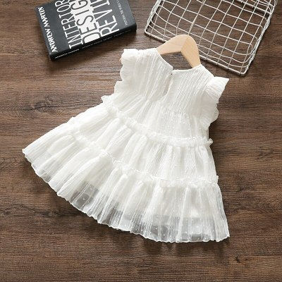 Newborn Baby Girls Dress Fashion Summer Princess Kids Girls Sundress Birthday Tutu Dress