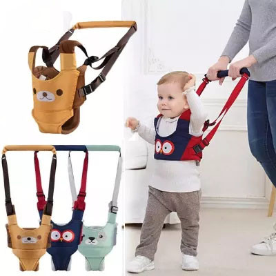 Baby Unisex Walker Assistant Harness Safety Toddler Belt Kid Safe Leashes 6-24 Months