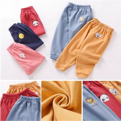 Casual Pants Baby Kids Long Trousers Cotton Autumn Winter Sport Pants Children's Clothing