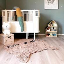 185cm Newborn Baby Bed Bumper Children Crocodile Pillow Bumper Infant Crib Fence Cotton Cushion