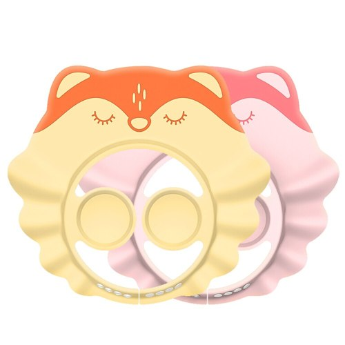 Adjustable Baby Shampoo Cap Durable kids Bath Visor baby ear protection hat Hair Wash Shield