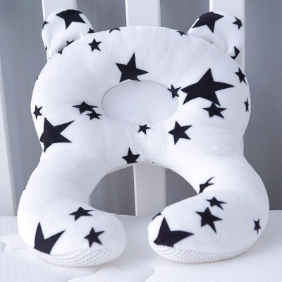 Concave Baby Pillow Neck Head Baby Kids Pillows Soft Cotton Sleep Cushion Anti Roll Dropship