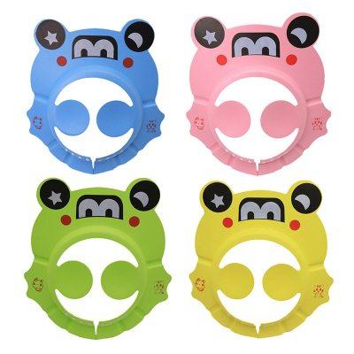 Baby Shower Caps Shampoo Cap Wash Hair Kids Bath Visor Hats Adjustable Shield Waterproof Hats