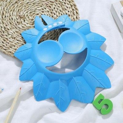 Baby Shampoo Cap Adjustable Newborn Sun Visor Shower Cap Cute Toddler Bath Supplies