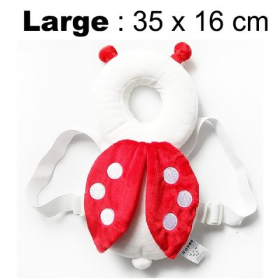 Baby pillow Head protection pad protect neck drop resistance cushion Toddler Head Back Protector Safety Pad