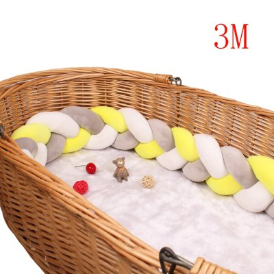 Bed Bumpers in the crib Kids For Newborn Baby Pillow Cushion Cot Room Infant Knot Things Protector