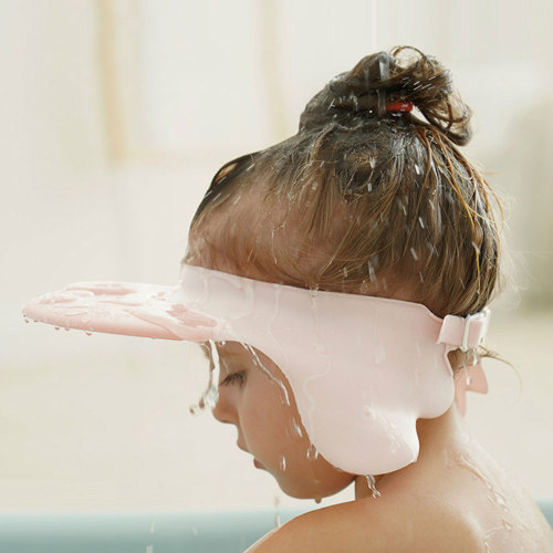 Baby Shampoo Cap Cute Wing Animal Baby Shampoo Hats Toddler Wash Hair Shield Kids Direct Visor Caps
