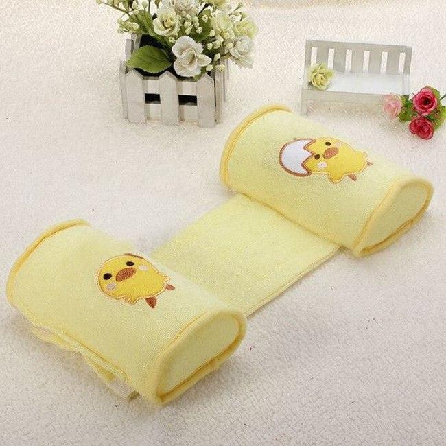 Baby Crib Bumper Nursing Pillow Anti-rollover Memory Foam Cute Cartoon Sleeper Pillow Sleep Positioner