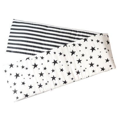 Baby Bed Bumpers For Newborns Thicken Star Crib Protector Cotton Infant Cot Around Cushion Room Decor