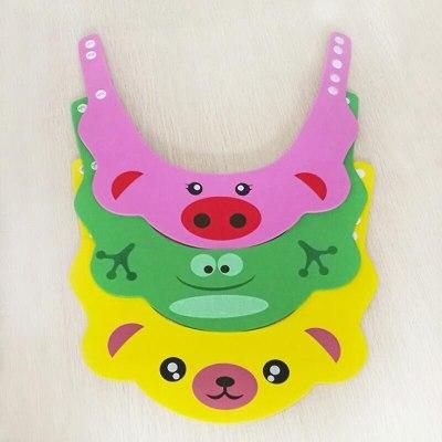 Adjustable Baby Shower Hat Toddler Kids Shampoo Bathing Shower Cap Wash Hair Shield Direct Visor Caps