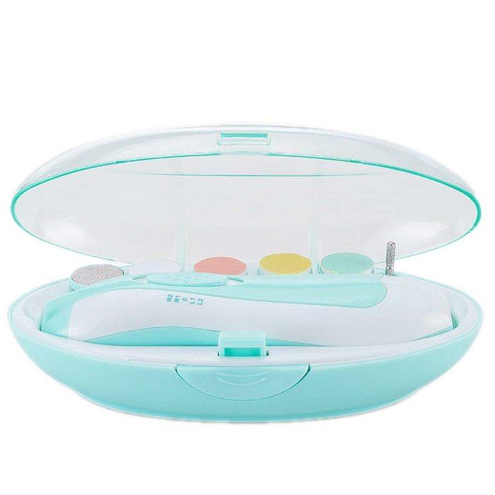 Portable Electric Safe Nail Clipper Cutter Baby Trimmer Manicure Pedicure Clipper Scissors