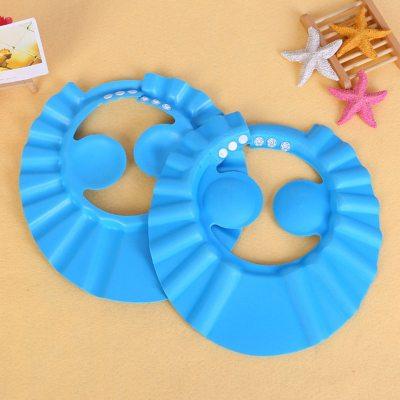 Baby Shower Caps Shampoo Cap Wash Hair Kids Bath Visor Hats Adjustable Shield Waterproof Ear Eye Protection