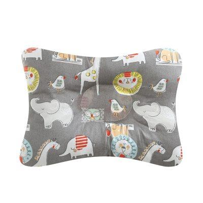 Baby Nursing Pillow Infant Newborn Sleep Support Concave Cartoon Pillow Printed Shaping Cushion Prevent Flat Head