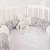 Baby Bed Bumper Safe Long Pillow Anti-collision Cot Pillow Crib Bumper Protector Room Decor
