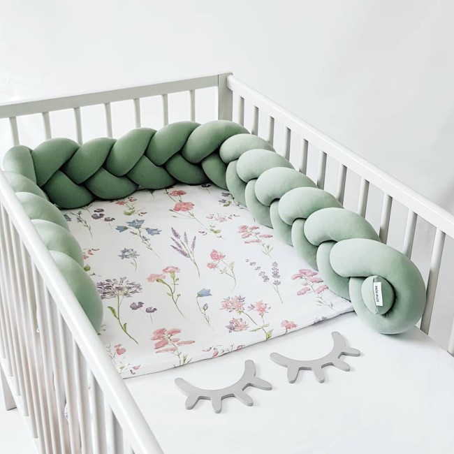 1M Baby Crib Bumpers Cushion Pillow Baby Bed Protection Bumpers