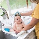 Baby Care Baby Bath Tub cushions Newborn Baby Float Bath Pillow Foldable Bath Cushion Mat Support