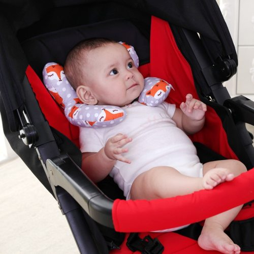 Baby Pillow Soft Neck Support Infant Car Cushion U-Shape Cotton Nursing Pillow Toddler Sleep Positioner