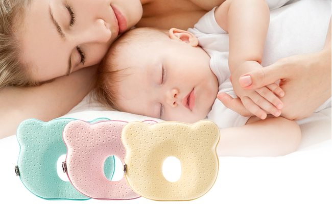 Memory Foam Breathable Baby Shaping Pillows To Prevent Flat Head Ergonomic Newborns Pillow Infant Cushion