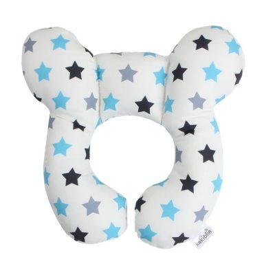 Baby Pillow Soft Neck Support Infant Car Cushion U-Shape Cotton Nursing Pillow Toddler Sleep Positioner