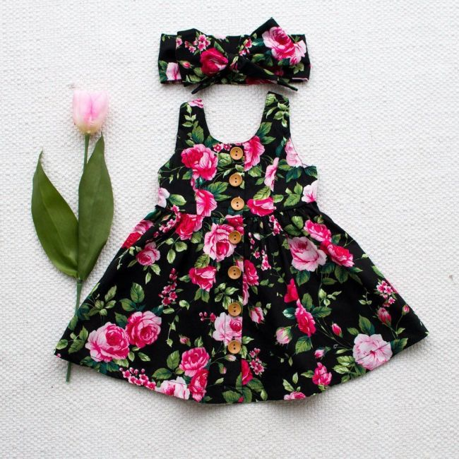 New Fashion Kids Toddler Baby Girl Princess Dress Wedding Party Dresses