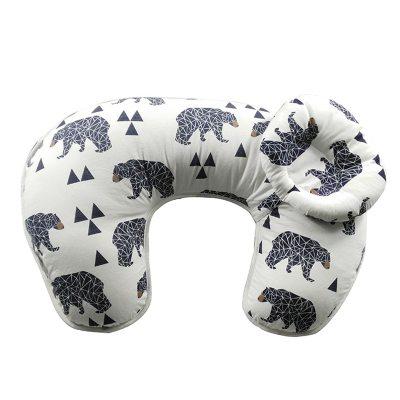 Baby Nursing Breastfeeding Maternity Pillow U-shaped Newborn Baby Care Support Feeding Cushion Head Cover