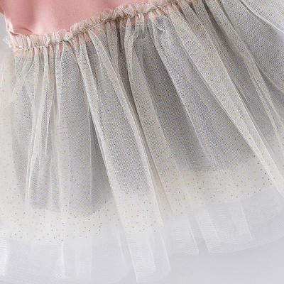 Dress For Girls Solid Bow Dresses Princess Party Dress Girls Sequin Princess Dresses