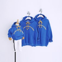 Spring Couple Wear Sweatshirts Family Matching Outfits Hoodies for Father/Mother/kid Family Look