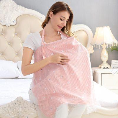 Mother Outing Breastfeeding Towel 100% Cotton Baby Feeding Nursing Covers Anti-glare Nursing cloth