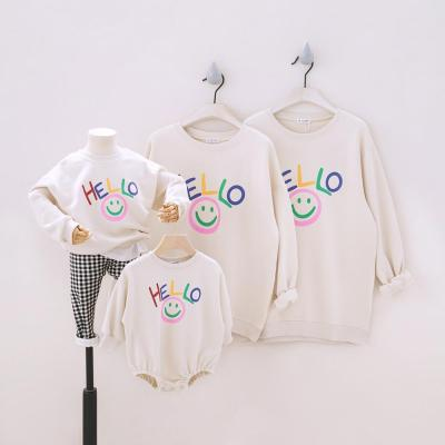 Family of Four Family Matching Outfits Sweatshirt Tees Family Looking Sweatshirts Long Sleeve Set