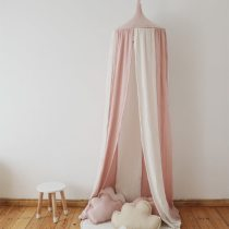 Baby Bed Curtain Children Room Decoration Crib Netting Baby Tent Cotton Hanging Canopy Dome Baby Mosquito Net Photography Props