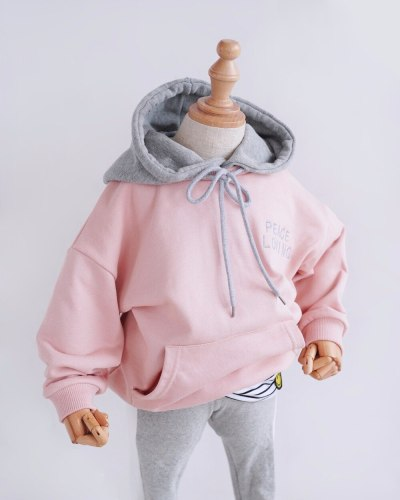 Parent-child Clothes Hoodies Family Matching Outfits Autumn Winter Sweatshirts