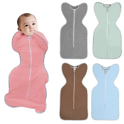 0-9 M Infant Newborn Baby Sleeping Bag Blanket Swaddle Soft Wearable Blanket