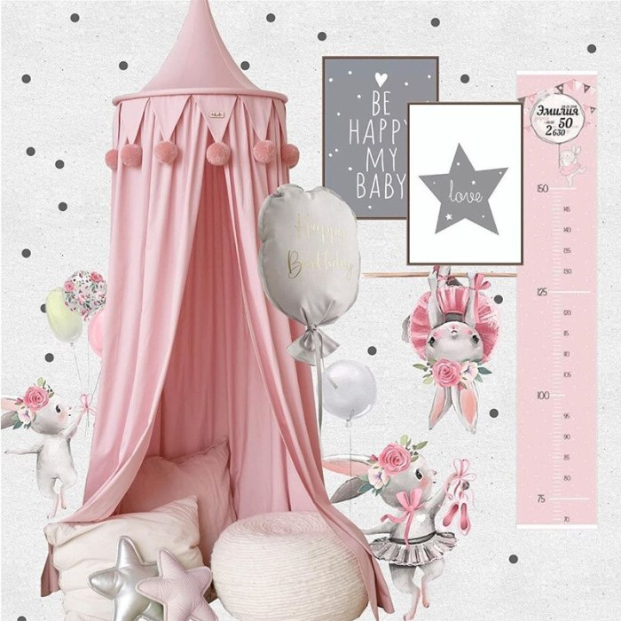Baby Bed Tent Mosquito Net Bed Canopy Play Tent Bedding for Kids Round Dome Netting Curtains