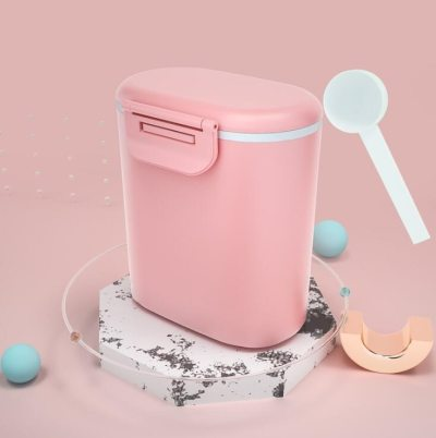 Baby Formula Milk Storage Infants Portable Milk Powder Formula Dispenser Food Container Feeding Box