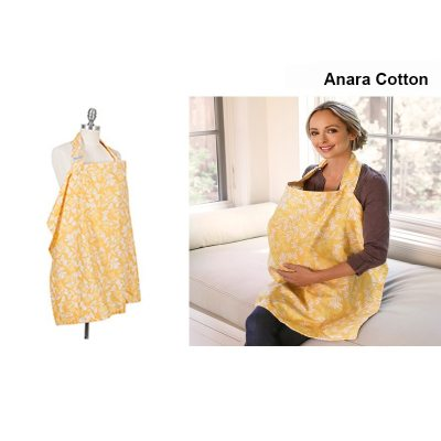 Breastfeeding Cover Baby Breathable Cotton Muslin Nursing Feeding Cover Cape Apron