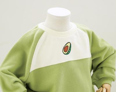 Sport Parent-Child Clothing Kids 2pcs/set Family Matching Outfits Cartoon Cute Lover Sweatshirts