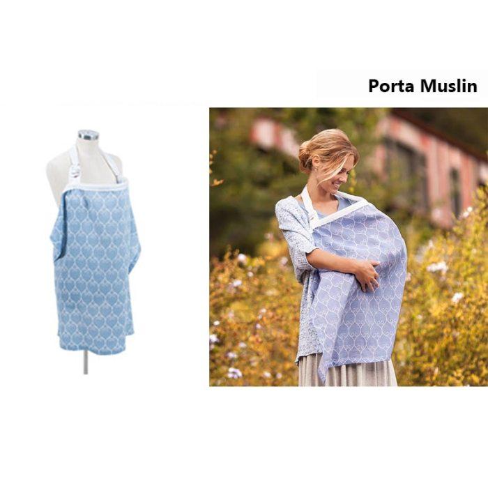 Breastfeeding Cover Baby Breathable Cotton Muslin Nursing Feeding Cover Cape Apron