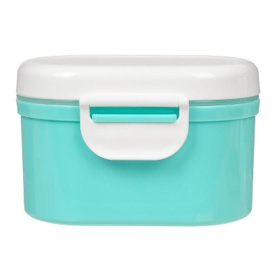 Baby Storage Box Food Simple Portable container Newborn Cereal Milk Powder Container with Spoon