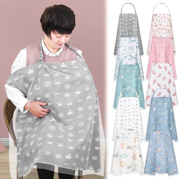 Nursing Cover For Breastfeeding Soft Multi Use For Baby Car Seat Canopy Scarf Blanket Stroller Cover