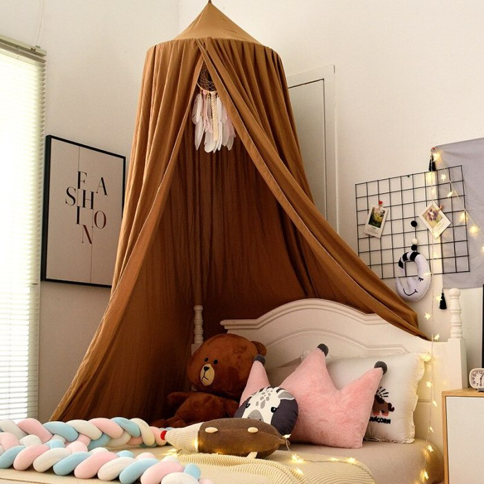 Baby Crib Bed Tent Hung Dome Mosquito Net Baby Bed Room Decor Kids Bed Canopy Tent
