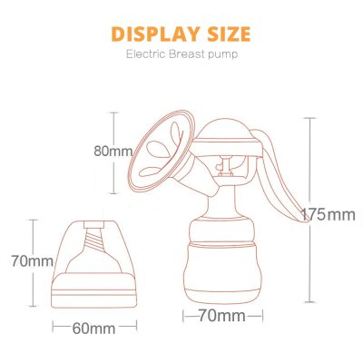 Manual Breast Pump Baby Nipple Suction Feeding Milk Bottles Breasts Food grade silicone Baby Bottle