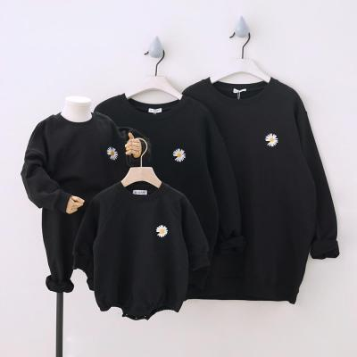 Daisy Family Matching Outfits for Family of Four Long Sleeve Sweatshirt Family Looking Couple outfit